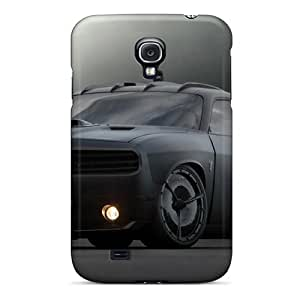 Samsung Galaxy S4 SZh10281Dten Support Personal Customs Trendy Dodge Challenger Pattern Shock-Absorbing Hard Phone Case -JasonPelletier