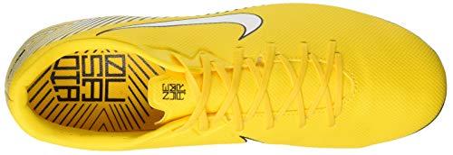 Unisex Erwachsene NIKE Academy Black Amarillo NJR Vapor White Mehrfarbig Mg 12 001 Fußballschuhe d5fZrfn4