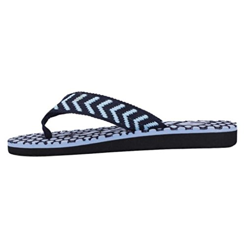 Pulison (tm) Heren Zomer Antislip Slippers Schoenen Sandalen Slipper Indoor & Outdoor Flip-flops Blauw