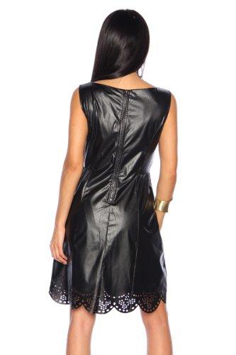 Robe sexy de soirée-noir avec sangles taille s, m et l