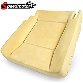 The Seat Shop Driver Bottom Perforated Leather Seat Cover Compatible with 2006-2008 Dodge Ram Laramie and 2009 Laramie 2500//3500 only P1 with Flap - Khaki Tan Leather