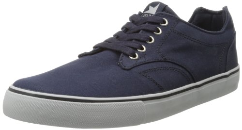 Dekline Tim Tim Navy Canvas Sneaker Navy/Luner sale lowest price new arrival sale online sale with paypal outlet with mastercard F5Bn63At
