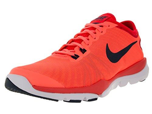 Nike Women's Wmns Flex Supreme TR 4, BRIGHT MANGO/SQDRN BLUE-BRIGHT CRIMSON, 5.5 US by NIKE