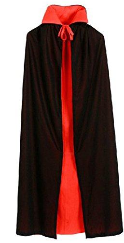 Unisex Halloween Cloak Vampire Bat Cloak Size 140 (Celebration Cruise Halloween)