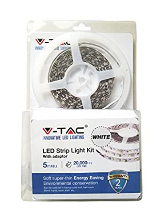 V-TAC 2355 - cinta luminosa (LED, Interior, IP20, Ambiente,