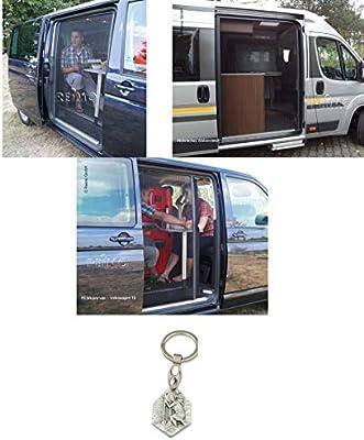 Mosquitera para Puerta Volkswagen T5/T6 Combi Multivan + Caravelle (93298835063) con Colgante Hlg. Cristóbal: Amazon.es: Juguetes y juegos