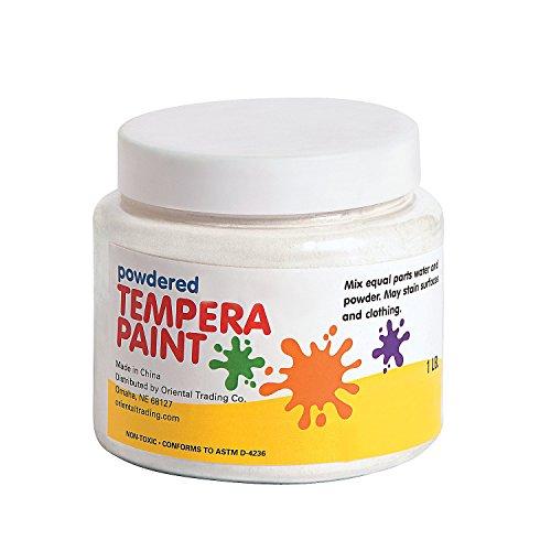 white-powder-tempera-paint