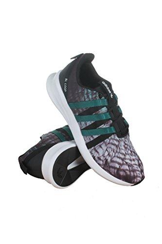 adidas Originals Herren SL Loop Racer Schnürer Sneaker Schwarzer Smaragd