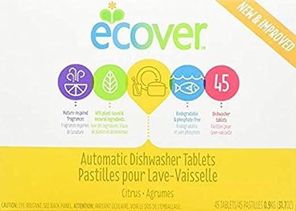 Amazon.com: Ecover - Pastillas automáticas para lavavajillas ...