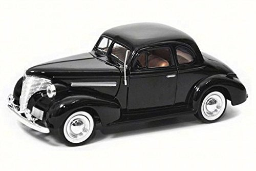 Motor Max 1939 Chevy Coupe, Black 73247AC - 1/24 Scale Diecast Model Toy Car Coupe Diecast Model Car