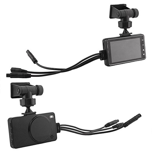Auntwhale Video Recorder Dual Camera 3 Inch Lcd Screen Full Clarity Durable Motorcycle Waterproof Driving Recorder Car Dvr