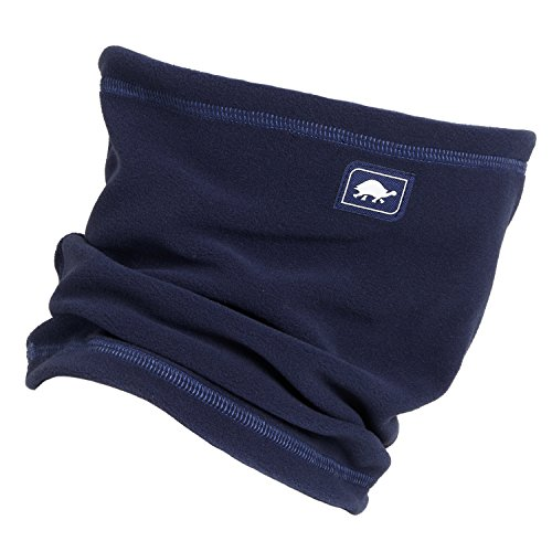 Turtle Fur Micro Fur Single-Layer Neck Gaiter, Navy, One Size (Neck Fur Warmer Turtle)