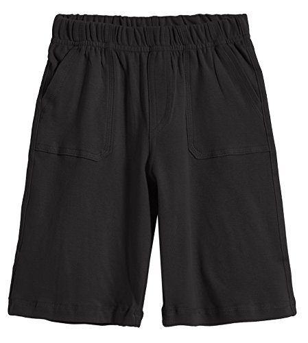 City Threads Boys' 3-Pocket Soft Jersey Shorts 100% Cotton Made in USA