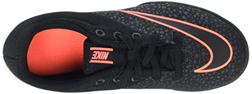 Nike Jr Mercurialx Pro Tf, Zapatillas de Deporte para Niñas Negro / Negro / Negro / Amarillo (Black / Black-Anthrct-Brght Mng)