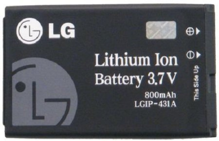 Bloutina LG SBPL0092202/SBPL0092201 Battery for LG LGIP-431A - Original OEM - Non-Retail Packaging - Black