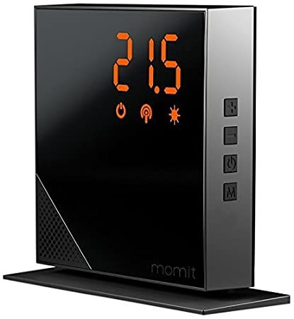 momit Home Additional Thermostat - Pure Black by momit