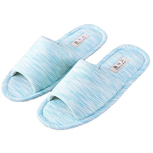 Chaudes Silencieuses Paire Durable Une Bigboba Confortable De Pantoufles Au Bleues Toucher Utilisation CYxw4q
