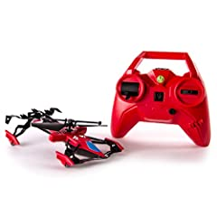 Take the race from driving to flying with the Switchblade Ground and Air Race Heli from Air Hogs! It features gyro-stabilization for a stable, high-performance flight and clip-on spoilers customize your race performance. Race your friends, an...