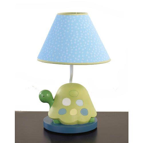CoCaLo Turtle Reef Lamp Base and Shade (Discontinued by Manufacturer)