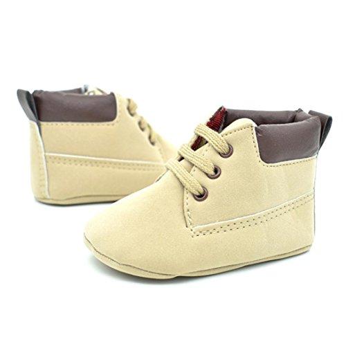 Jamicy® Baby-Schuh-Art- und Weisekleinkind-weiche alleinige lederne Schuhe