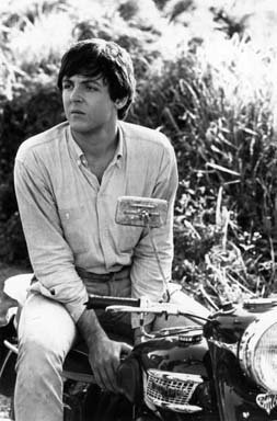Photo of Sir Paul McCartney The Beatles On Motorcycle (Pictures Of Paul Mccartney)