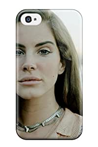 Tpu Case For Iphone 4/4s With Lana Del Rey