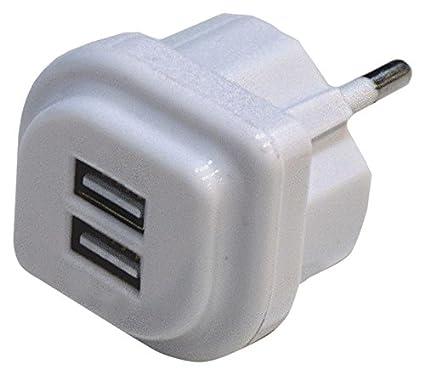 FAMATEL 1450 - Cargador USB doble: Amazon.es: Bricolaje y ...