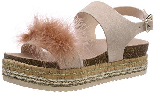 Bullboxer Women's 449008e1c Platform Sandals Beige (Rose Antique Rsaq) 6NdS1vui