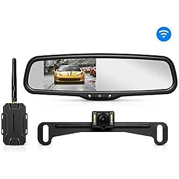 Amazon.com: AUTO-VOX X1 Mirror Dash Cam Backup Camera 9.88 ...