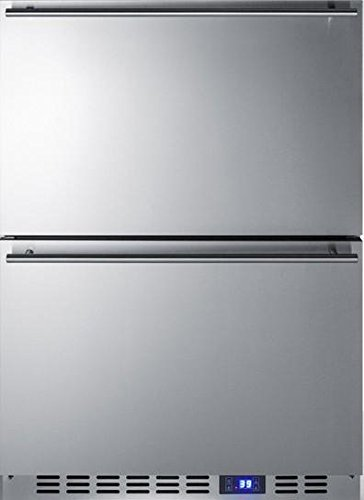 Summit FF642D Drawer Refrigerator, Stainless Steel
