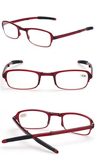 3 Hombre Compactas Lectura Leer Negro Bolsillo 0 1 Gafas 0 Presbicia Marrón Mujer 2 5 2 1 Portatiles con 0 4 5 5 de 0 Plegables 3 Rojo Gafas rojo 2 Vista VEVESMUNDO Mini YExIqSzY