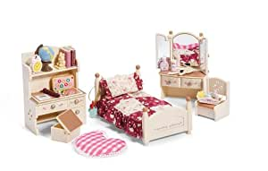 calico critters bedroom calico critters s bedroom set toys amp 10974