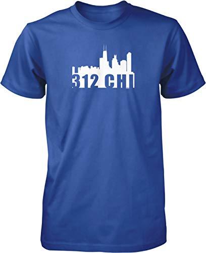NOFO Clothing Co 312 CHI Skyline Men's T-Shirt,