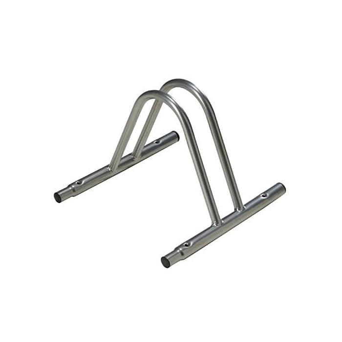 Wolfpack 5411220 – Soporte Para Bici Suelo Individual Modular, color metalizado