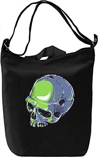 Skull Borsa Giornaliera Canvas Canvas Day Bag  100% Premium Cotton Canvas  DTG Printing 