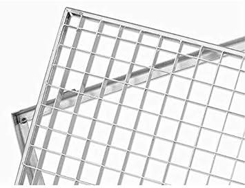 Aco Gitterrost Mit Zarge 60x40 Cm 30 30er Masche Amazon De Baumarkt