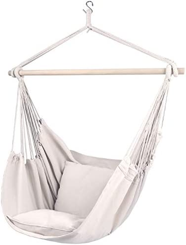 Gold Armour Hammock Chair Hanging Rope Swing Max 330lb
