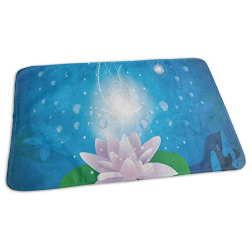 Changing Pad Water Lily Whale Ocean Baby Diaper Incontinence Pad Mat Vintage Adults Mattress Pad Sheet For Any Places For Home Travel Bed Play Stroller Crib Car