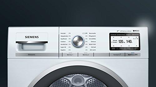 Siemens wt yh home connect iq wärmepumpentrockner a