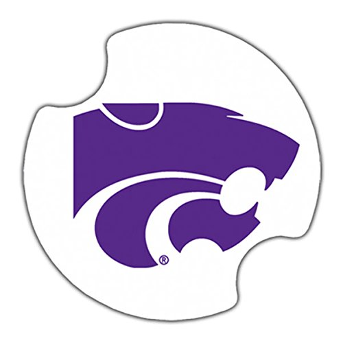 (Thirstystone Kansas State University Car Cup Holder Coaster, 2-Pack)