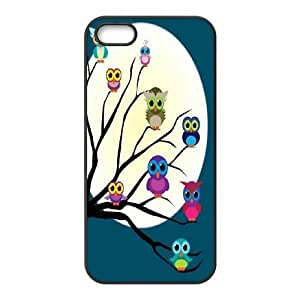 AinsleyRomo Phone Case Quote owl you need is love pattern case For Apple Iphone 5 5S Cases FSQF494243
