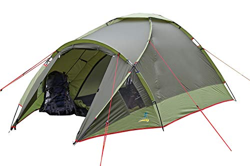 PALMBEACH 4 Season Camping Tent - Waterproof All Weather Tent, Family Tent, Portable 2 to 3 Person Expedition Tent, Double Layer Tent, Hiking, Backpacking, Trekking, Mountaineering from Palm Beach