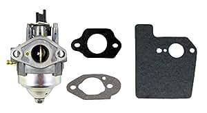 MTXtec Honda HARMONY II HRR216(hrr2169pka) (hrr2169vka) WALK-BEHIND cortacésped motores Asamblea Carburador & kit de juntas de montaje