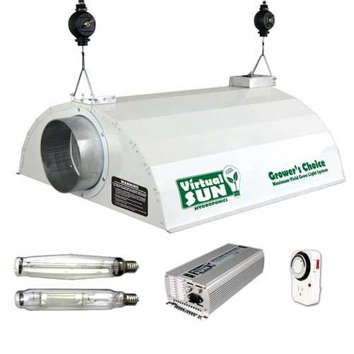 Virtual Sun VSD1000WDS 1,000-Watt Dimmable MH/HPS Digital Grow Light Kit For Sale
