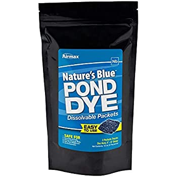 Airmax Nature's Blue Pond Dye, WSP, 2 Pack