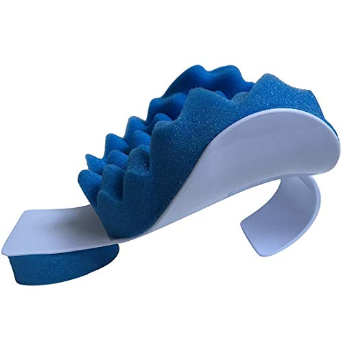 Muscle Relaxant Relief Pillow Shoulder Neck Traction Device for The Relief of Pain Alignment of Cervical Spine Neck Support Pillow Travel The Rest of The Throat of The Course theraputic Support tensi