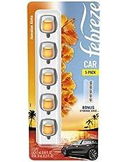Febreze Car Aromatizante para Auto Hawaiian Aloha 5 Pack