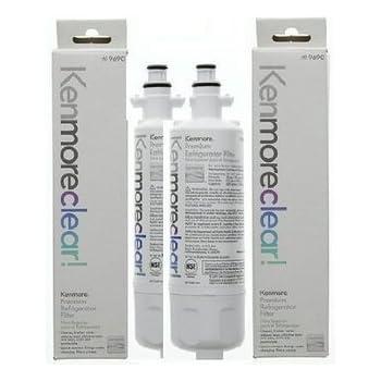 kenmore fridge filter. kenmore 46-9690 kenmoreclear! refrigerator water filter, 3 filters fridge filter o