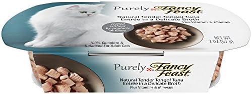 Fancy Feast Purely Tender Tongol Tuna Cat Food, 2-oz, case of 10