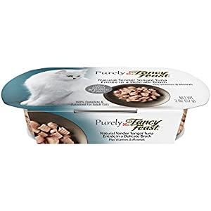 upc 734439243911 product image for Fancy Feast Purely Tender Tongol Tuna Cat Food, 2-oz, case of 10 | barcodespider.com